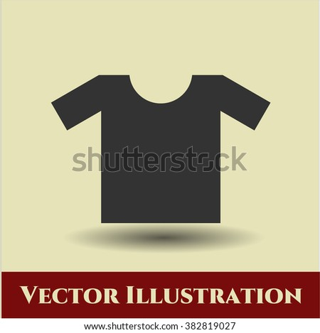 Shirt icon or symbol