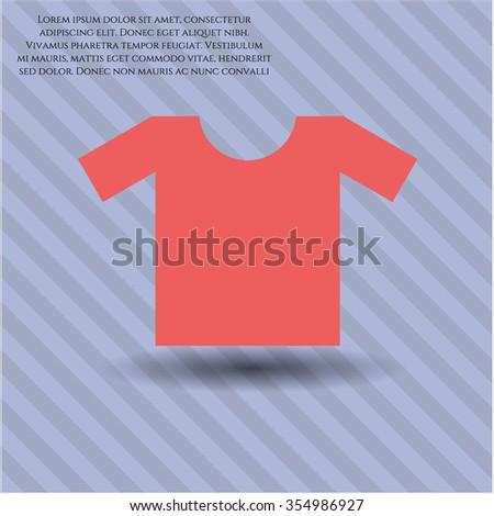 Shirt icon vector illustration