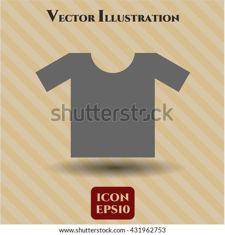 shirt icon vector symbol flat eps jpg app web concept website