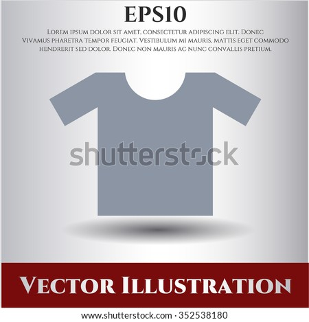 Shirt vector icon