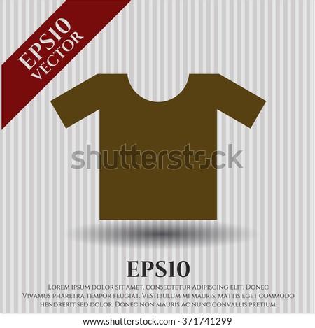 Shirt vector symbol