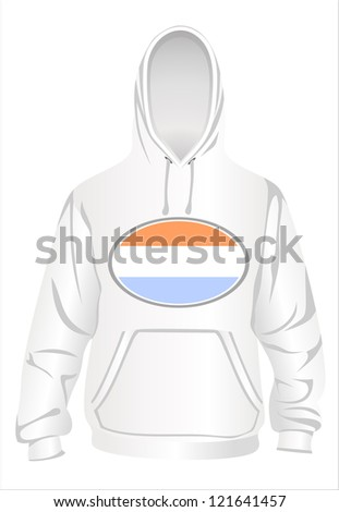 Shirt with a hood