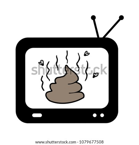 shit on television