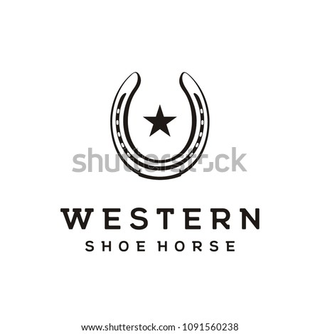 shoe horse for country western