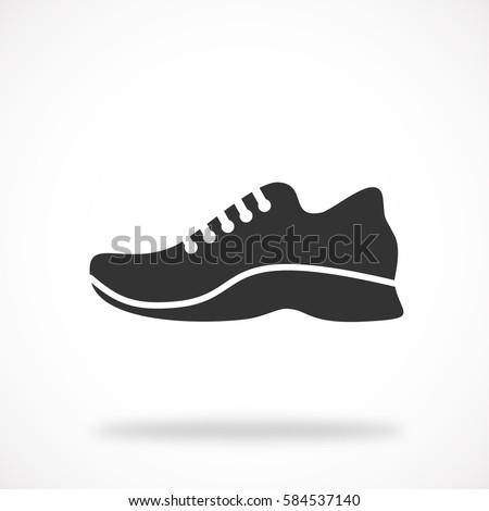 shoe icon  vector eps 10