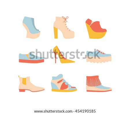 shoe set for summer