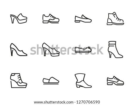 44815a3d6c4 Free Vector Shoes - Download Free Vector Art, Stock Graphics & Images
