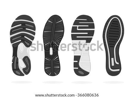 shoes sole vector