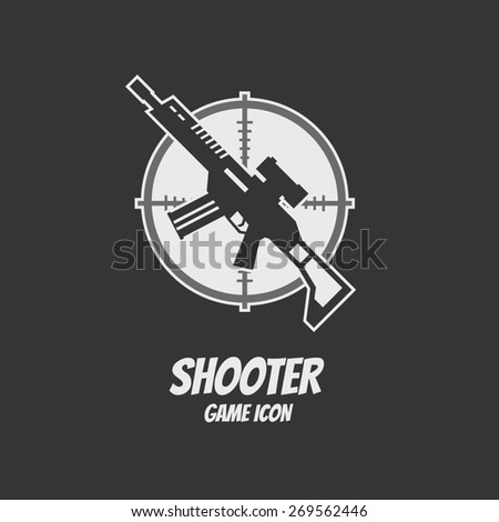shooter or action game icon