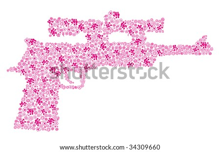 shooting flowers gun for