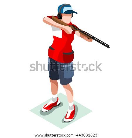 shooting player sportsman games