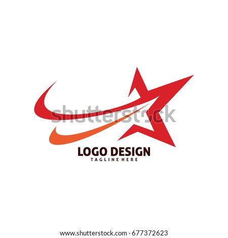 shooting star logo