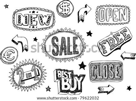 Shop doodles