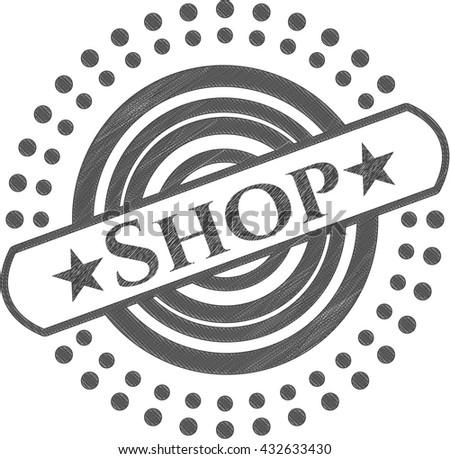 Shop draw (pencil strokes)