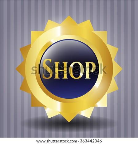 Shop gold badge