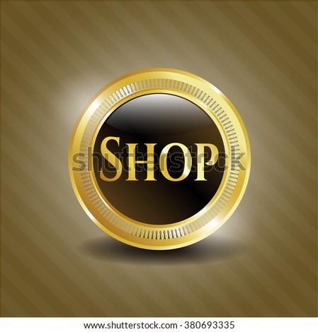 Shop golden badge
