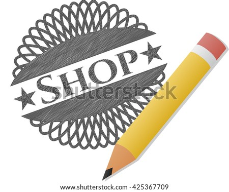 Shop pencil draw