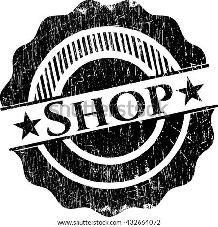 Shop rubber stamp