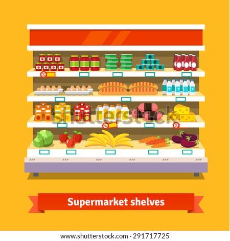 shop  supermarket interior