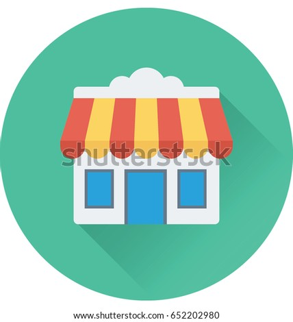 Shop Vector Icon