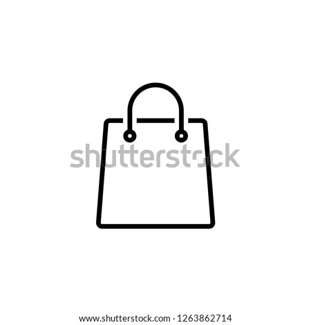 shoping bag icon