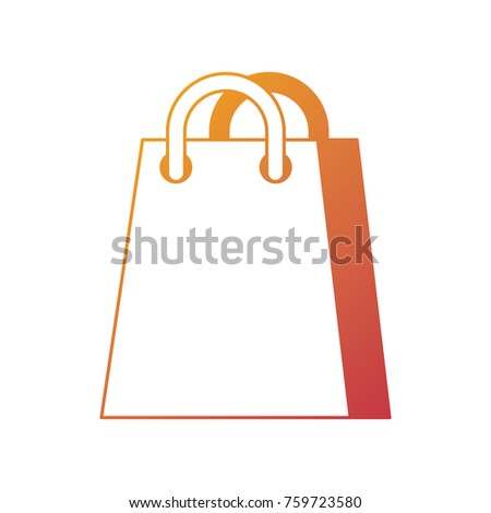 shopping bag ecommerce marketing online app