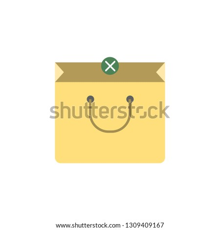 Shopping bag icon. Element of Market icon for mobile concept and web apps. Detailed Shopping bag icon can be used for web and mobile