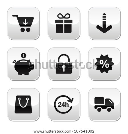 Shopping buttons for website / on-line store