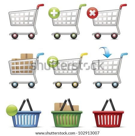 Shopping Cart and Basket
