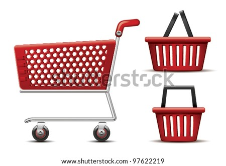 Shopping Cart and Basket