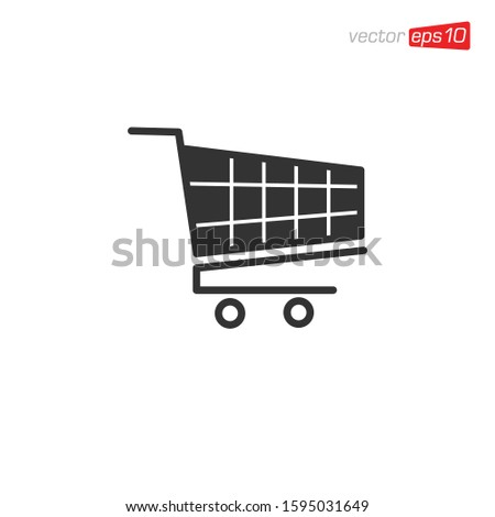 Shopping Cart Icon Design Vector