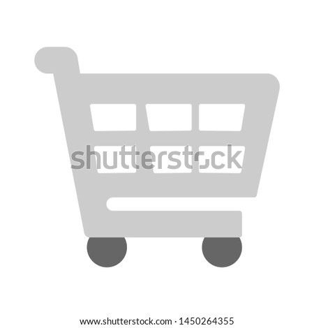 shopping cart icon. Logo element illustration. shopping cart design. colored collection. shopping cart concept. Can be used in web and mobile