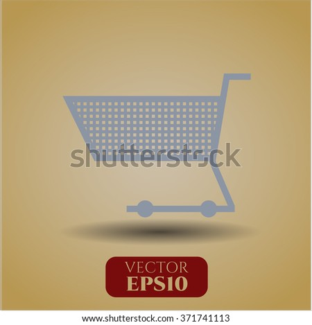 Shopping cart icon or symbol