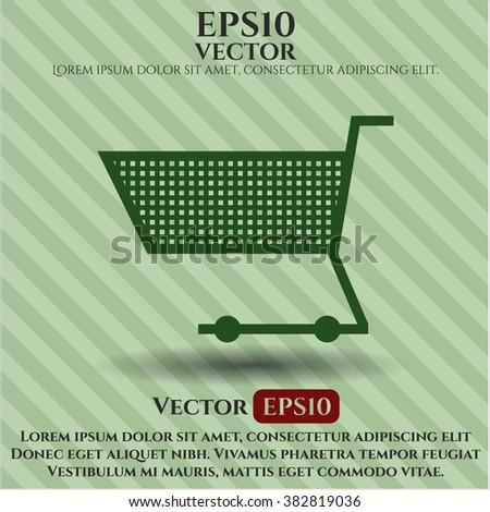Shopping cart icon or symbol