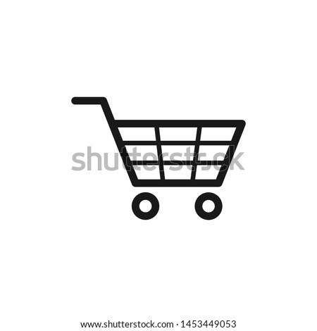 Shopping cart icon Vector EPS 10
