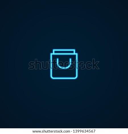 Shopping | Neon Style Icon