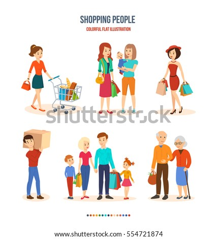 shopping people joint