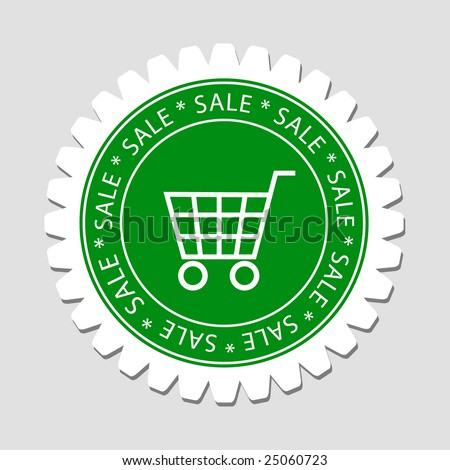 Shopping Sale Label