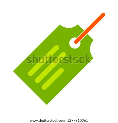 shopping-store label icon - shopping-store label isolated ,shopping label illustration- Vector label