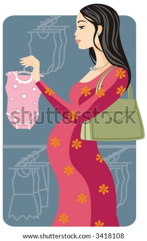 Shopping pregnant girl. Check my portfolio for. Save to a lightbox ▼