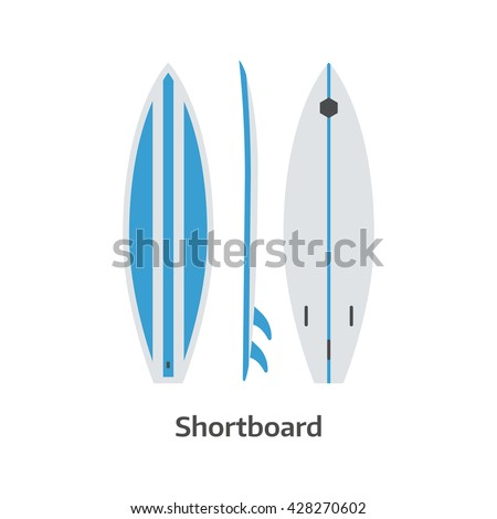 short board vector icon