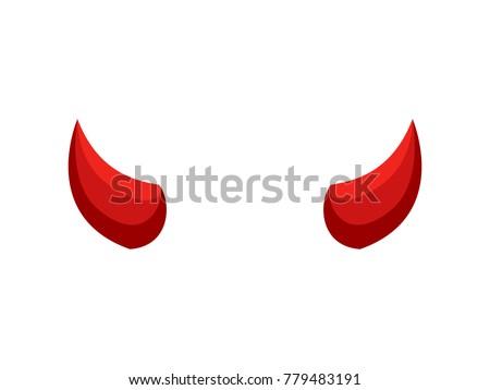 Short devil horn