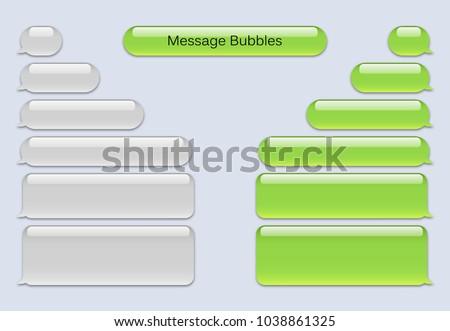Short Message Service Bubbles