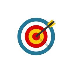 Shot at target
