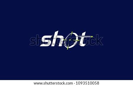 shot targeted bullet logo