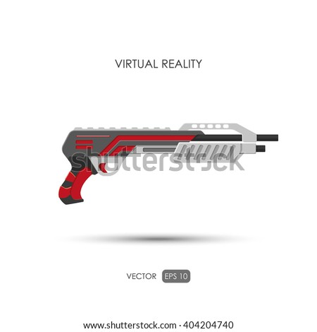 shotgun gun for virtual