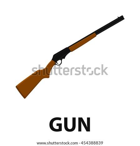 shotgun icon cartoon singe