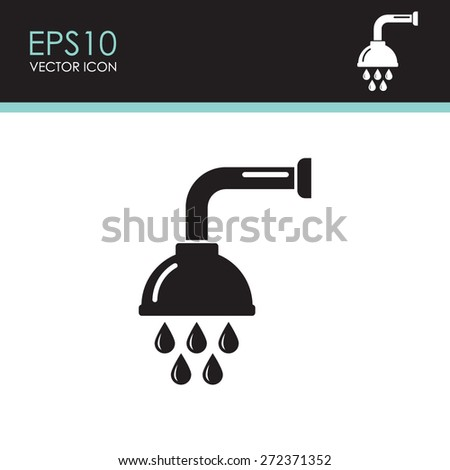Shower Icon Vector Shower Vector Icon