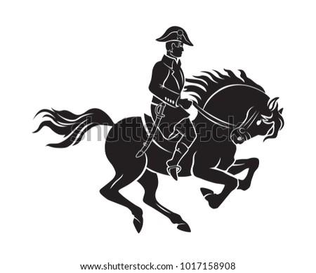 shown napoleon on horseback