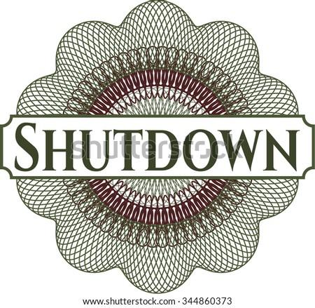 Shutdown abstract rosette